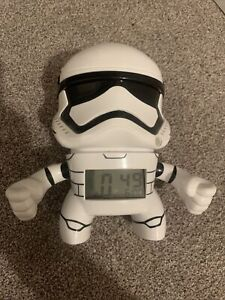 Star Wars Stormtrooper Alarm Clock With Light