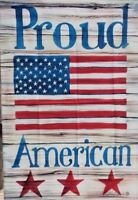 "Proud American Standard Flag by Toland #1335 USA  24"" x 36"""