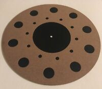 Vibes Audio Lab Turntable Mat Rubber/HD Cork (Thorens,Linn,Rega,Pro-ject)