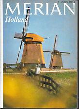 Merian Holland September 1975/ Heft 9/ 28. Jahrgang Medemblik Grachten Randstad