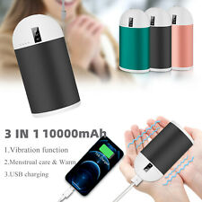 Hand Warmers Heat Rechargeable Pocket Electric Hothands/USB Charger Power Bank