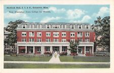 Mississippi postcard Columbus Shattuck Hall I.I. & C. State College for Women