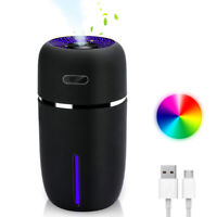 USB 7 Color LED Ultrasonic Air Humidifier Purifier Aroma Diffuser Aromatherapy