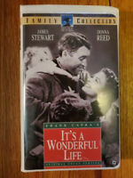 It's a Wonderful Life James Stewart (1947) VHS RARE HTF OOP! Classic Drama