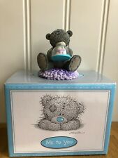 Collectable Me to you tatty teddy figurine Let It Snow Rare Boxed