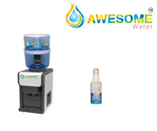 AWESOME WATER PREMIUM NEW MODEL Bench Top Hot & Cold Dispenser in BLACK or WHITE