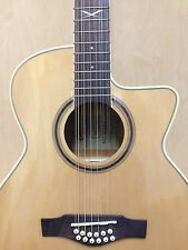 EKO NXT 018 CW XII EQ NATURAL 12-String Electro-Acoustic Guitar+Free Bag06217025