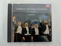 Carreras, Domingo, Pavarotti in Concert 1990 CD London MEHTA Import Decca ~MINT