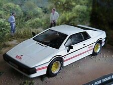 JAMES BOND LOTUS ESPRIT FOR YOUR EYES ONLY MODEL CAR 1:43 SCALE WHITE FYEO K8