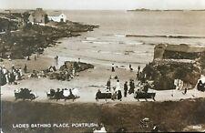 Ladies Bathing Place Portrush Co Antrim Postcard