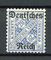Deutsches Reich Dienst MiNr. 60 Y postfrisch MNH geprüft (K779