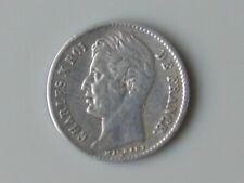 Monnaie argent france 1/4 quart de franc 25 centimes 1829 W rare petit défaut