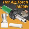 1600W 220V 30-680 ℃ Hot Air Torch Plastic Rod Welding Gun Pistol Welder  Q