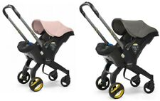 New Doona car seat stroller Urban Grey & Free Blush Pink colour pack birth-13kg