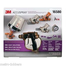 3M 16580 Accuspray Spray Gun System Kit With Standard PPS Cup
