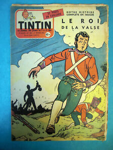 TINTIN Nos 381 DU 9 FÉVRIER 1956