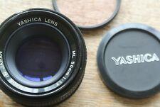 Yashica ML 50mm 1:1.7 Contax Yashica mount lens