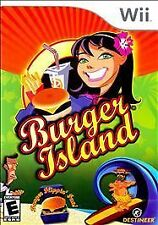BURGER ISLAND WII! GRILL, COOK FRIES, BLEND MILSHAKES, FUN FAMILY TIME PARTY