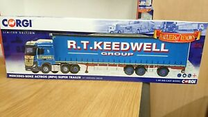 Corgi CC15808 Mercedes Benz Actros R.T. Keedwell Group Ltd Edition of 850