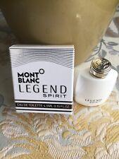 MONT BLANC LEGEND Spirit 4,5ml Splash For Men