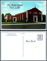 NEBRASKA Postcard - Fairbury, First Baptist Church O27