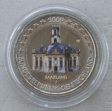 2 Euro Deutschland 2009 Saarland in Farbe III. unz.