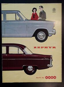Ford Zephyr Brochure 1960