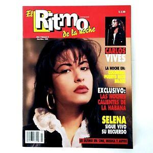 Vintage Selena Quintanilla El Ritmo De La Noche Magazine Oct/Nov 1995 95