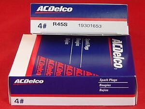 AC Delco Spark Plugs R45S BOX SET OF 8