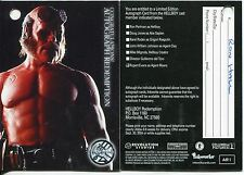 Hellboy The Movie Autograph Redemption Card AR1 [A7] Redeemed [Marked]