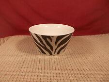 "Roscher & Co. Dinnerware Zebra Design Cereal Bowl 6 1/8"" x 3 1/8"""