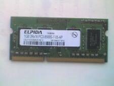 ELPIDA EBJ11UE6BAU0-AE-E (1GB DDR3 PC3-8500S 1066MHz SODIMM 204-pin) DRAM - V
