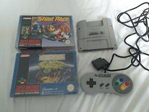Snes Bundle. Super Gameboy, Controller and 2 Games.