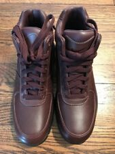 NWB Mens Nike Air Max Goadome Dark Brown Leather Boots US 8.5 UK 7.5 BR 40