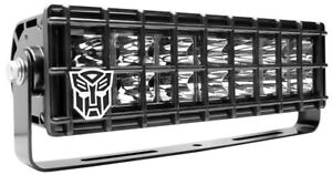 """ANZO USA Rugged Vision Off Road LED 10"""" Light Bar w/ Transformers Cover 888005"""