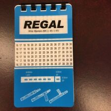 REGAL WIRE MARKER BOOK 1-45 10 PAGES