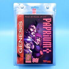 Paprium Limited Edition + Manga Comic (Sega Genesis USA) 16-Bit Cartridge SIGNED