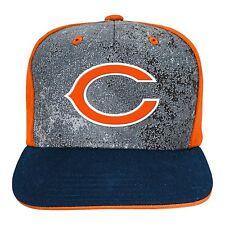"Chicago Bears Cap Hat Youth Boys NFL ""Magna"" Flatbrim Snapback 1 Size"