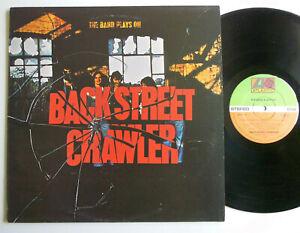 Crawler,LP,The Band Plays On,Atlantic K50173,UK-75 1stP EX,Paul Kossoff, Free!!!