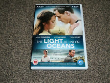 THE LIGHT BETWEEN THE OCEANS : 2017 MICHAEL FASSBENDER DVD IN VGC (FREE UK P&P)