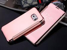 Fundas con tapa transparente de color principal rosa para teléfonos móviles y PDAs