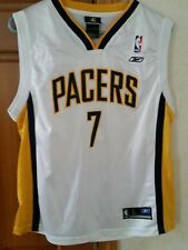 3cf0a5d8b Jermaine O Neal Authentic Indiana Pacers Reebok Jersey Youth L NBA