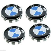 4 X 55MM BMW Nabendeckel Radnaben Nabenkappen Radkappe Felgendeckel Embleme NEU