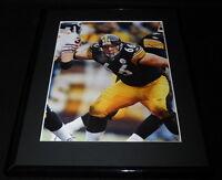 Alan Faneca Framed 11x14 Photo Display Steelers vs Bears