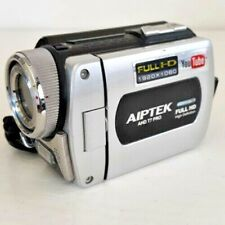 AIPTEK AHD T7 PRO CAMCORDER Full HD 1920x1080 HDMI Lens 7.4 mm Working Tested