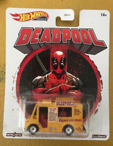 Deadpool Chimichanga Truck Retro Entertainment 1:64 Hot Wheels GRP96 DMC55