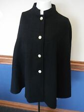 Rare vintage Canadian Military College wool Cape 1984 with red satin lining s/m
