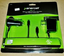 New Enercell Micro USB Power Combo, Home / Wall & Car Charger