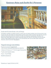BINGO Städtereise nach Sevilla Andalusien Spanien