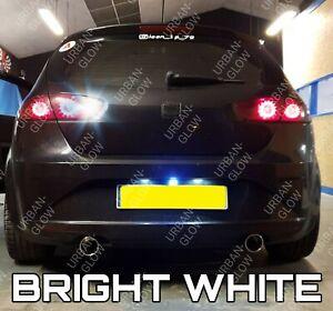 For Seat Leon MK2 2005-2012 White LED Reverse Light Bulb Upgrade Error Free
